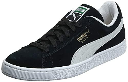 PUMA Suede Classic+, Sneaker Uomo, Nero (Black-White), 44 EU