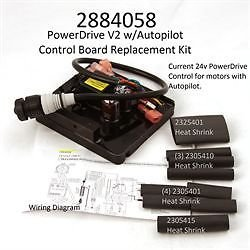 Minn Kota Powerdrive V2 with Autopilot Control Board #2304058#2884058