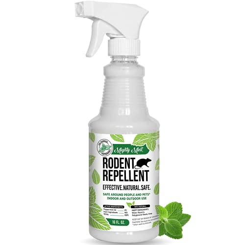 Peppermint Oil Rodent Repellent Spray
