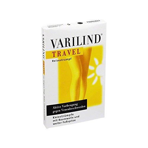 Varilind Travel Reise-St�tzstrumpf schwarz S, 2 St