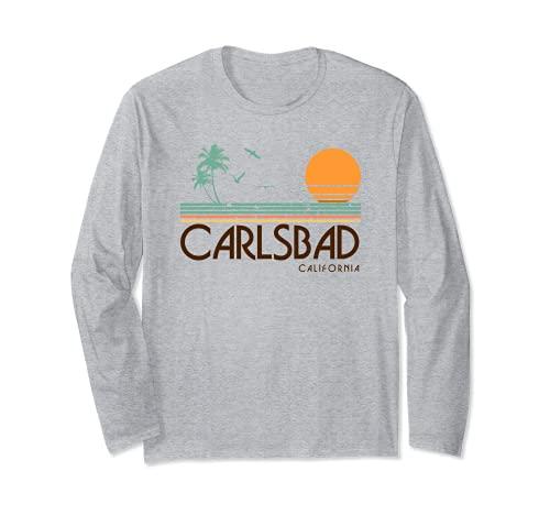 Carlsbad California Maglia a Manica
