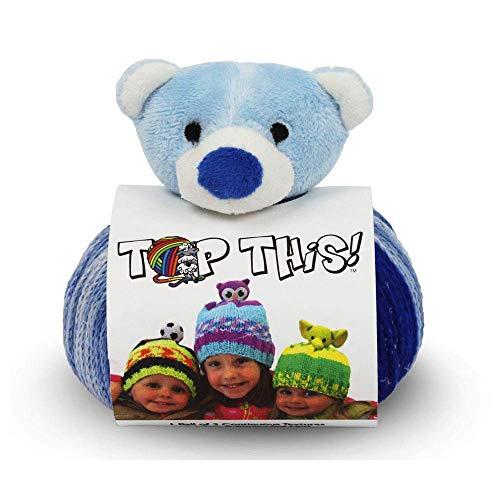 DMC Top This! Teddy Bear Yarn Kit