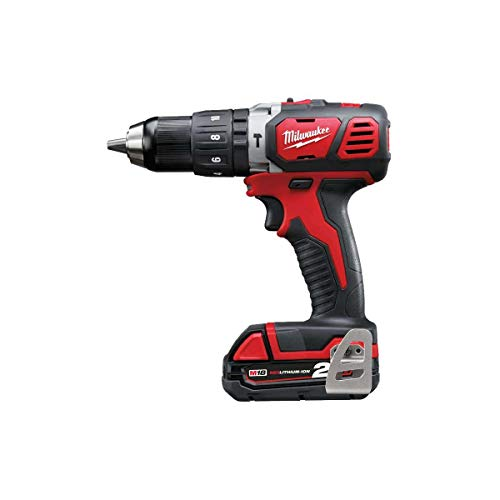 Milwaukee 4933443515 - M 18 bpd-202c taladro percutor 18v 2,0 ah litio 2 vel. 50 nm