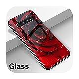 Hopereo Coque en verre pour Samsung Galaxy A51 A50 A71 A70 S20 S10 S9 S8 A40 S10E A30 A20 A31 A41...