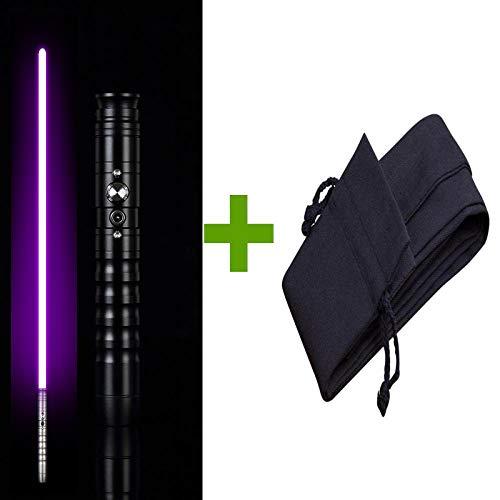 BTYKJ Star Wars Laser Sword Regalo de cumpleaños para Padres e Hijos para niños Mango de Metal