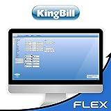 Rechnungsprogramm KingBill FLEX für Handwerker und Dienstleister, Klein und Mittelbetriebe aller Branchen (kein Abo inkl. Support)