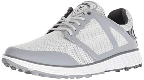 Callaway Men's Balboa Vent 2.0 Golf Shoe, Light Grey, 9 W US