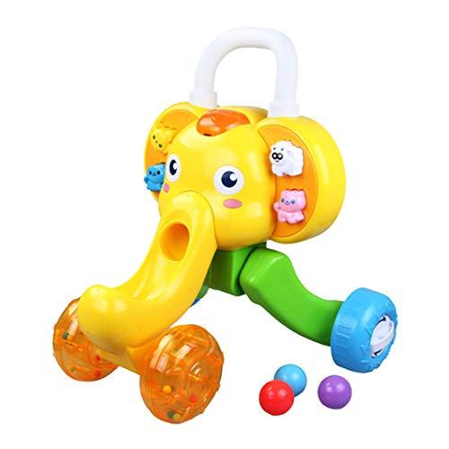 Baby Walker Multi-Fonction Anti-Renversement Chariot pour Bébé Apprentissage Jouet De Marche Anti-Chute FANJIANI (Couleur : A)