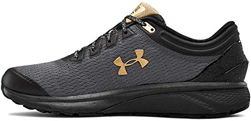 Under Armour Men's Charged Escape 3 Running Shoe, Black (005)/Graphite, 11.5