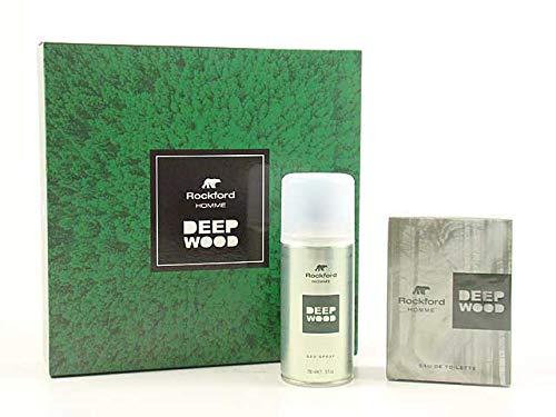gandini Rock Deep Wood Eau de Toilette 100 ml + Deo 150 ml