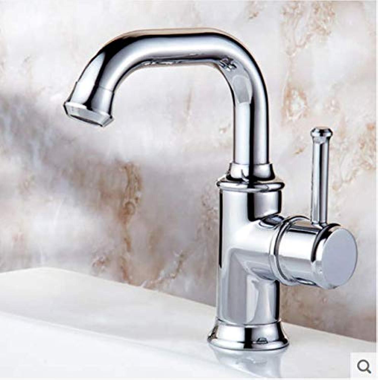 Rotierende Wasserhahn hei und kalt Waschbecken Becken Wasserhahn Badezimmer Kupfer Becken Wasserhahn