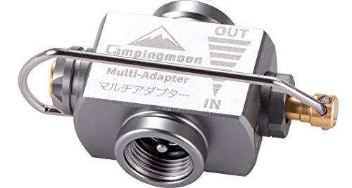 キャンピングムーン(CAMPING MOON)マルチガスアダプター マルチガスバルプ OD缶 詰め替え ガスセーバー Z15