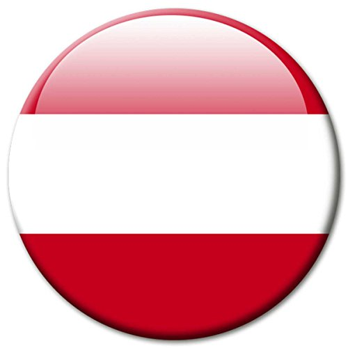 Kühlschrankmagnet Österreich Flaggen Magnet Länder Reise Souvenir Flagge Austria für Kühlschrank stark groß 50 mm