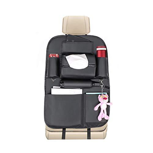 G-TASTE Auto Rücksitz Organizer Kick-Matten-Schutz für Autositz Wasserdicht Anti-Dirty Multi-Taschen Speicher Organizer für Kinder Sitzschutz Auto Rückenlehne (1 Packung)