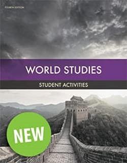 BJU Press World Studies Student Activities Manual 4th Ed. 501726