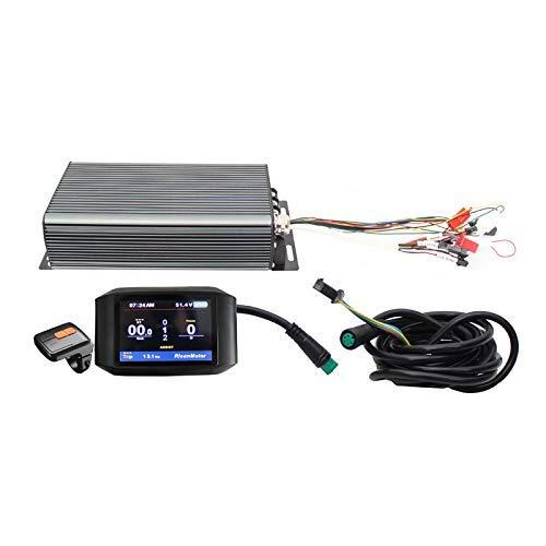 HYLH Exklusive 48V 60V 72V 3000W intelligente programmierbare Sinus-Controller mit bunten Farbdisplay TFT-750C-Display für E-Bike E-Bike