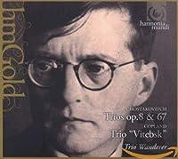 """PIANO TRIOS OP.8 & 67/COPLAND: TRIO """"VITEBSK"""""""