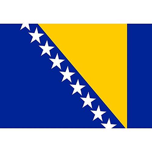 Flagge Fahne Bosnien und Herzegowina 90 * 150 cm