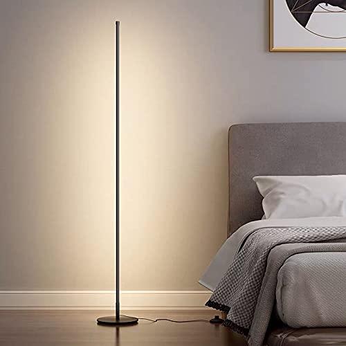 RJTEK LEDフロアライト フロアランプ フロアスタンド フロアスタンド 間接照明 おしゃれ リモコン付 3色 調光 調色 無段階調節 高さ150cm 和風 北欧 和室 床置き 玄関 寝室 居間用