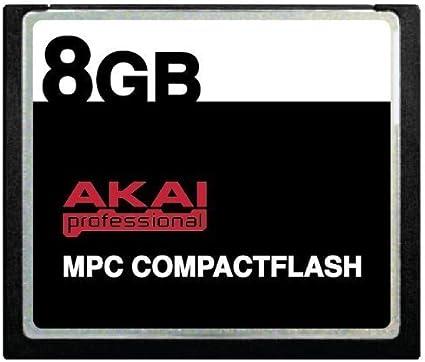 Akai Mpc Compactflash Cf Speicherkarte Für Mpc500 Mpc1000 Mpc2500 Und Mpc5000 Alle Produkte