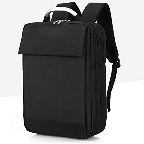ZRM Multifunctional Business Computer Backpack, Unisex, Suitable for 15.6-inch Laptop (Color : Black)