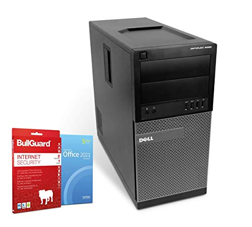 GamerEdition PC Computer | Intel Core i5-4590@ 4X 3,3 GHz | 16 GB | 256 GB SSD | DVD-Brenner | Nvidia GeForce GTX 1050 TI Grafikkarte | Windows 10 Pro | BullGuard | SoftMaker Office (Generalüberholt)