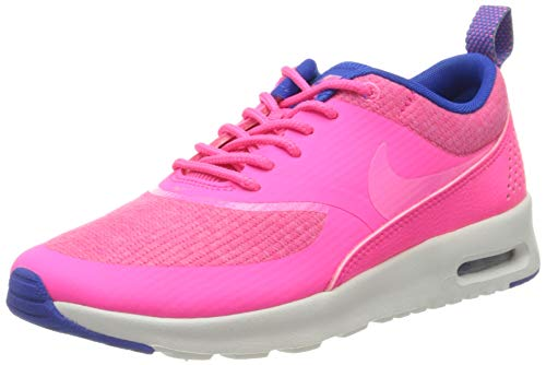 Nike Womens Air Max THEA PRM Running Trainers 616723 Sneakers Shoes (UK 2.5 US 5 EU 35.5, Hyper Pink Pink Glow Hyper Cobalt Summit 601)