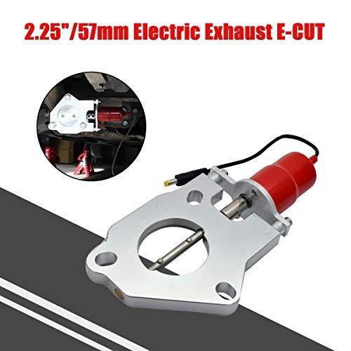 Riloer Recorte de Escape Eléctrico, Válvula E-CUT Salida de Motor Recorte de...