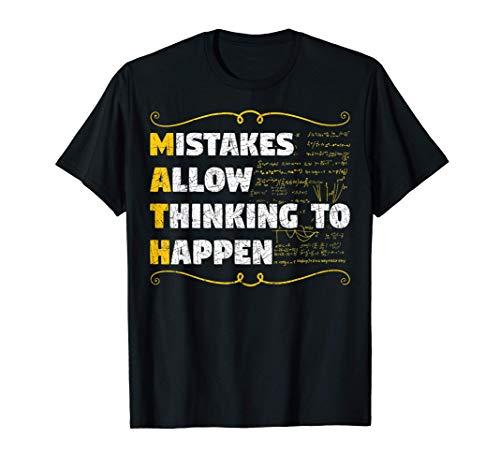 Intello Mathématicien Calcul Scientifique Mathématiques T-Shirt