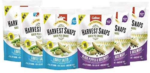 Calbee - Harvest Snaps 3 Sabores [Pack x6]