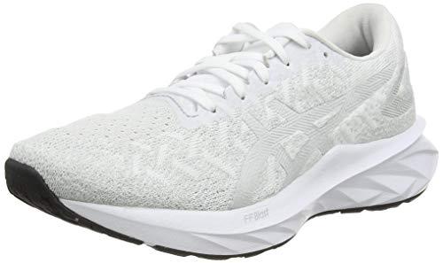 ASICS Dynablast, Zapatillas Mujer, White/Glacier Grey, 37.5 EU
