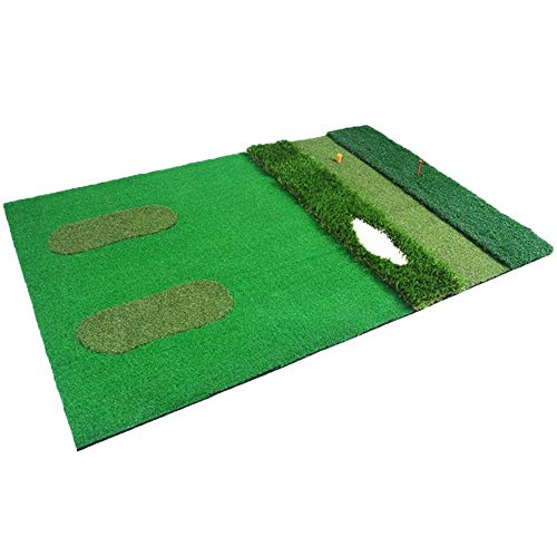 Lowest Price! ChouXiao ZCX Multi-Function Golf Mat Indoor Practice Mat Golf Putting Mat Professional...