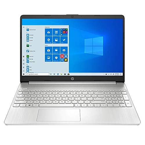 2021 HP Pavilion 15.6 Inch FHD 1080P Touchscreen Laptop, Intel Core i5-1035G1 (Beats i7-7500U), 32GB DDR4 RAM, 2TB SSD, Bluetooth, Webcam, Win10 Pro, Silver + NexiGo Bundle