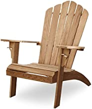 Cambridge Casual Superior Indonesian Teak Arie Oversized Adirondack Chair with Cup Holder