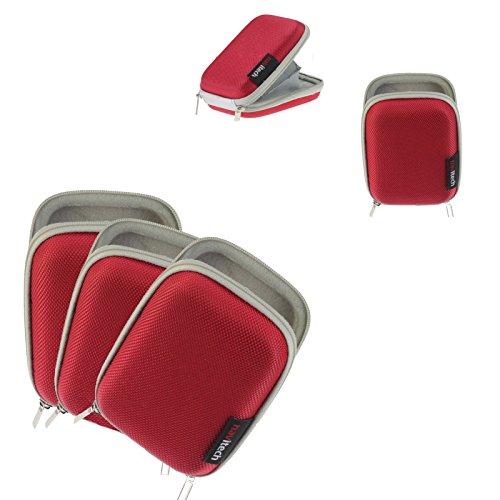 Navitech rot Fall für Sennheiser AMBEO SMART Headset