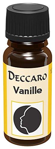 DECCARO Aceite aromático Vainilla, 10 ml (Aceite de Perfume)