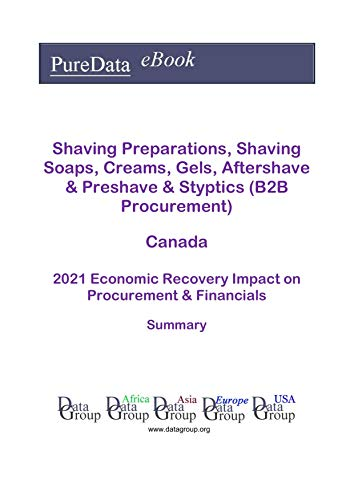 Shaving Preparations, Shaving Soaps, Creams, Gels, Aftershave & Preshave & Styptics (B2B Procurement) Canada Summary: 2021 Economic Recovery Impact on Revenues & Financials (English Edition)
