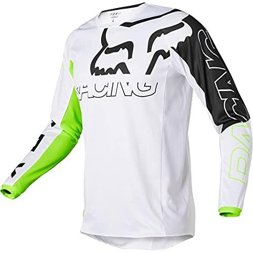 Fox Racing Herren 180 SKEW Motocross Jersey Trikot, Fluoreszierendes gelb, Large