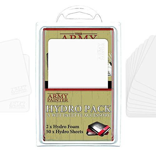 The Army Painter | Wet Palette Combo | Paleta húmeda Estuche Premium para Pinceles con 50 Toallitas y 2 Esponjas para Pintar Figuras Miniatura de Wargaming | Juego de Guerra