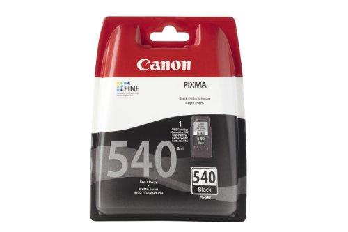 Canon PG-540 Cartucho tinta original Negro para Impresora Inyeccion tinta Pixma TS5150-TS5151-MX375-MX395-MX435-MX455-MX475-MX515-MX525-MX535-MG2150-MG2250-MG3150-MG3250-MG3550-MG3650-MG4150-MG4250