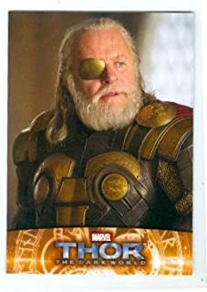 Anthony Hopkins Odin trading card Thor 2013 Upper Deck Marvel #50