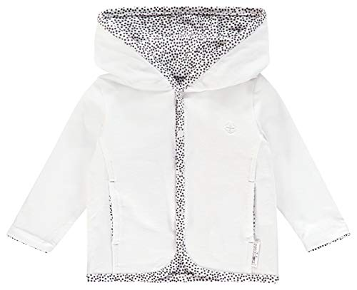 Noppies Baby-Unisex U Cardigan rev Haye Strickjacke, Weiß (White C001), 56