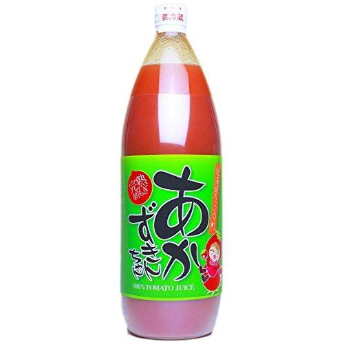秩父別振興公社『完熟朝もぎ100%トマトジュース あかずきんちゃん』