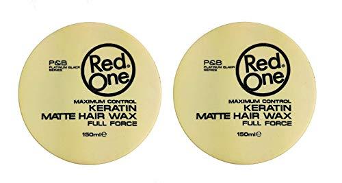 RedOne Keratin Matte Hair Wax 150ml 2 Stück Haarwachs Haarwax