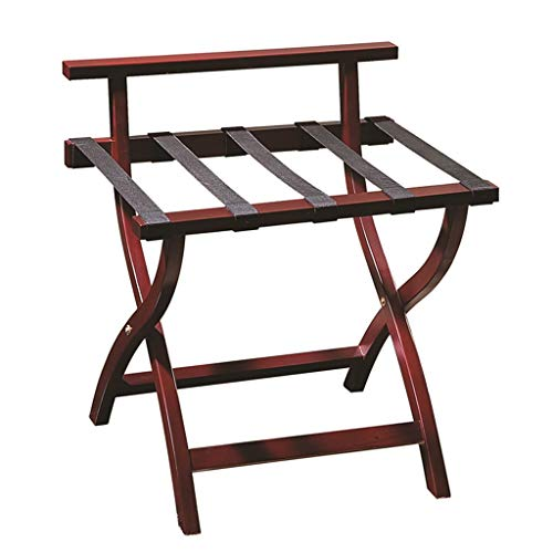 Sale!! Luggage Rack, Wooden Luggage Rack Bedroom Hotel Folding Luggage Rack (Size : A)