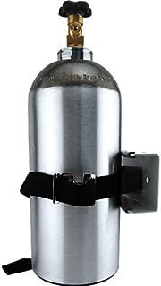Single CO2 Gas Cylinder Safety Wall Bracket