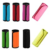 CUGBO 8Pcs Luggage Handle Wrap Grips, Neoprene Suitcase Carry on Travel Tags/Identifier fo...