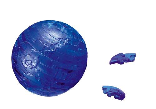 Crystal Puzzle - 6190110 - Puzzle 3D - Terre - Bleu