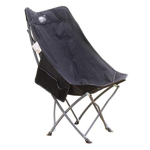 ZLGP Silla de Camping Plegable, Silla de Camping Plegable con Respaldo Alto,...
