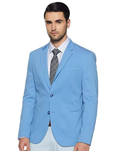 United Colors of Benetton Men's Notch Lapel Regular fit Blazer (19P2FSIC2023I_901_Blue_XL)